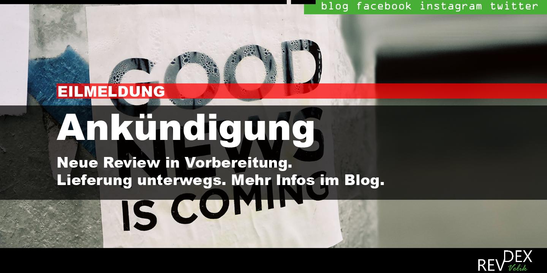 EILMELDUNG Review in Vorbereitung