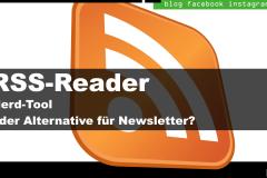 Beitragsbild: RSS Reader - Nerdtool oder Alternative für Newsletter?
